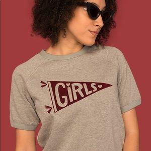 Tuesday Bassen GIRLS XL Short Sleeve Sweatshirt
